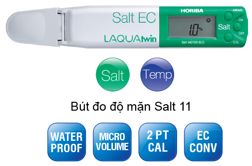 Bút đo độ mặn Horiba