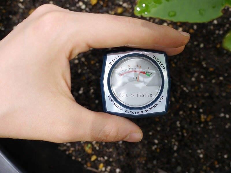 bút đo pH trong đất