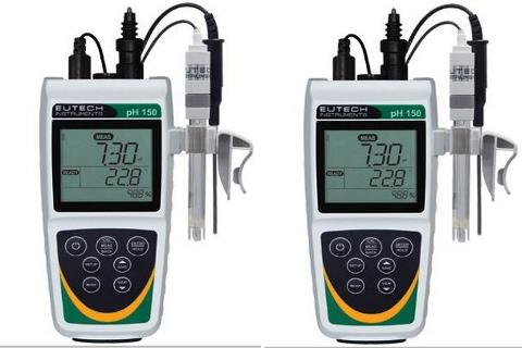 máy đo pH và nhiệt độ cầm tay