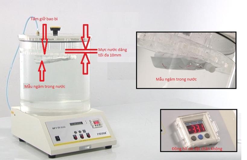 Máy đo độ rò rỉ khí