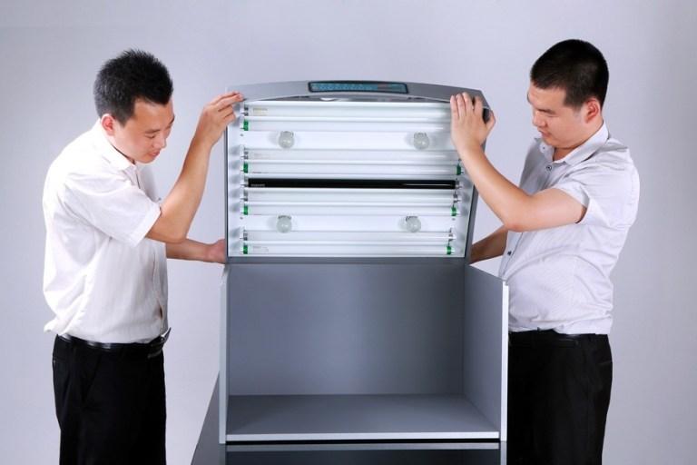 hướng dẫn sử dụng và lắp đặt tủ so màu