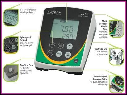 Máy đo pH để bàn Eutech