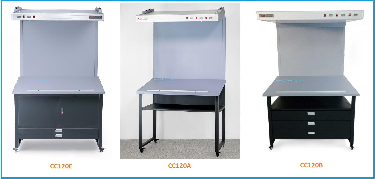 Sự khác nhau giữa bàn soi màu CC120