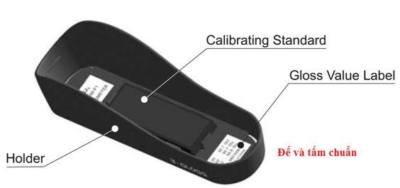 Tấm chuẩn máy đo độ bóng KSJ